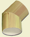 Bamfaux Elbow = Imitation Bamboo Elbow